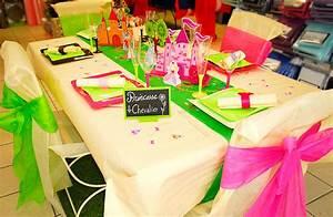 Idée Déco Table Anniversaire : table d 39 anniversaire princesse et chevalier ~ Melissatoandfro.com Idées de Décoration
