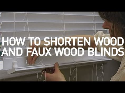 how to shorten faux wood blinds how to shorten wood and faux wood blinds blinds diy