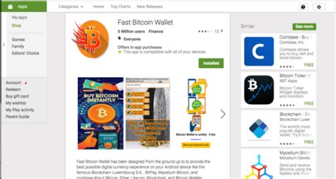 Each bitcoin transaction requires a small fee. Google removes fake bitcoin wallet apps from its app store - SiliconANGLE