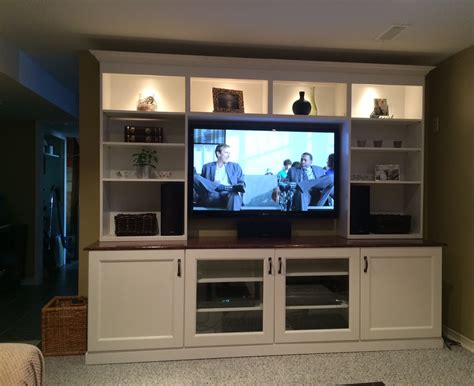 ikea besta entertainment center materials besta inreda i started by assembling 2 besta floor cabinets and attached them