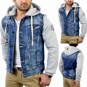 Cipo Baxx Jeans Herren Auf Rechnung : cipo baxx c 1294 herren 2in1 jeansjacke jeans jacke sweatjacke hoody pullover ebay ~ Themetempest.com Abrechnung