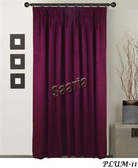 pinch pleated blackout velvet curtains door backdrops