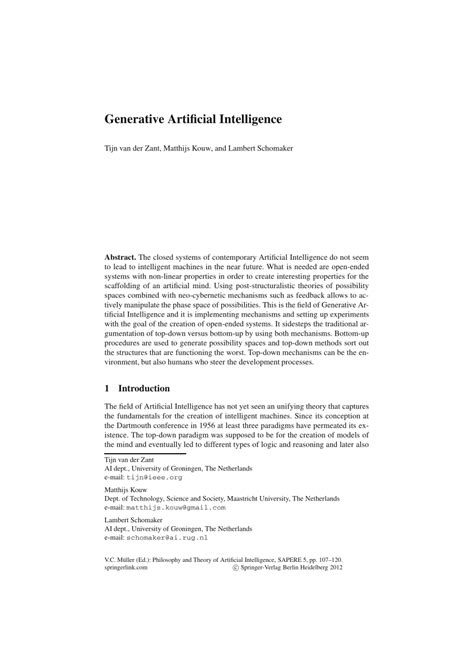 (𝗣𝗗𝗙) Generative Artificial Intelligence