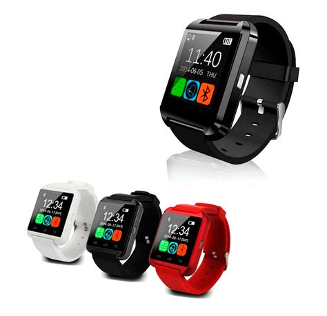 smartwatch iphone compatible smartwatch u8 compatible con iphone y android bluetooth