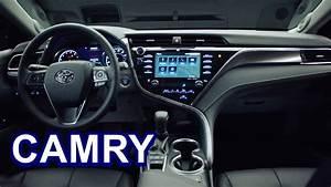 2018 Toyota Camry - INTERIOR - YouTube