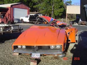 Dodge Charger General Lee Wrecked