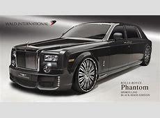 Rolls Royce Phantom pimped by Wald International