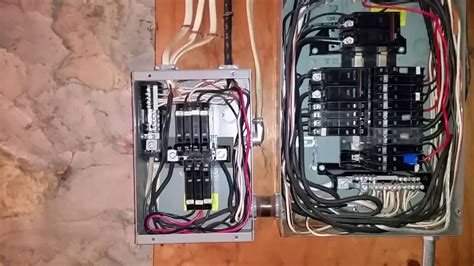 A Panel Sub Panel Wiring by Improper Wiring Sub Panel Wiring Diagram