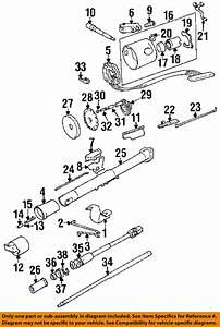 Jeep Chrysler Oem 1994 Cherokee Steering Column