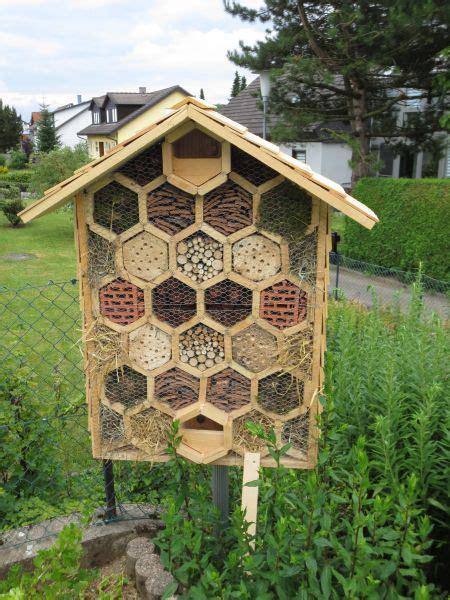 vier sterne insektenhotel bauanleitung zum selberbauen