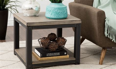 Decorating Ideas For End Tables by How To Decorate With A Large End Table Overstock
