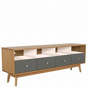 meuble tv scandinave 4 tiroirs skoll by drawer With meuble scandinave