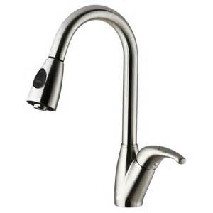 stainless steel pull out kitchen faucet vigo stainless steel pull out spray kitchen faucet the home depot canada
