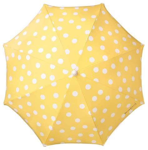 polka dot umbrella mediterranean outdoor umbrellas