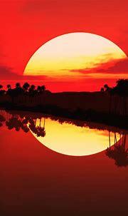 3d Sunset wallpaper by im_hinaraj - d9 - Free on ZEDGE™