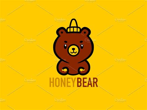Lion With Honey Bear In Mouth Stock Photo