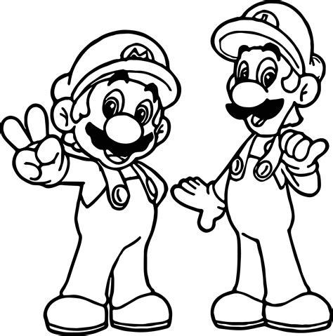 Super Mario Pack Scene Super Mario Coloring Page Gallery
