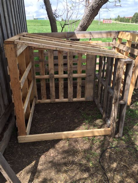 diy easy  goat house animals goat shelter goat