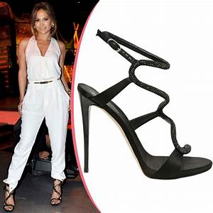Jennifer Lopez In Giuseppe Zanotti ShoeRazzi