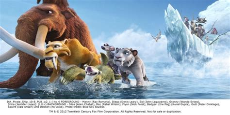 Ice Age 4 Movie Images Pictures Teaser Poster