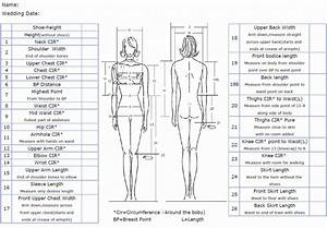 measurement chart savilerow wedding boutique With how to measure for a wedding dress