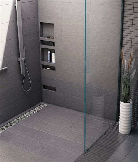 tile redi s trench 174 shower pan commercial construction