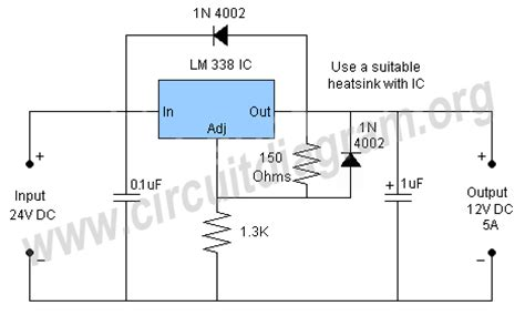 cr4 thread variable input voltage constant 12v 5a supply