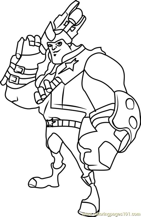 kord zane coloring page  slugterra coloring pages