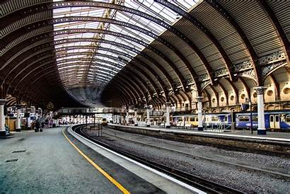 Station Platform Train