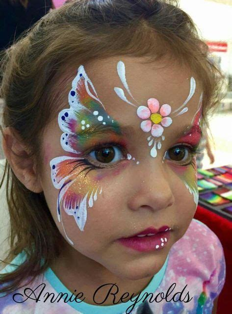butterfly smudge template for kids butterfly face painting face painting ideas pinterest