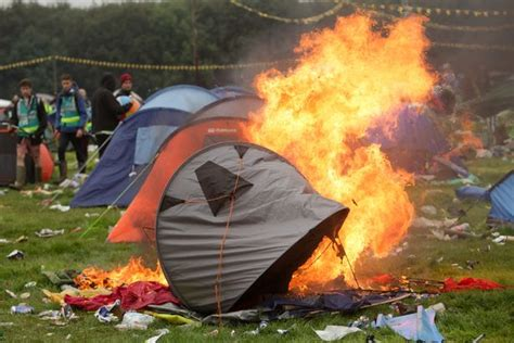 Leeds Festival Goer Wakes To Find Neighbouring Tent On
