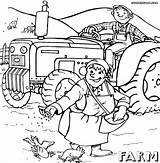 Farm Coloring Pages Colorings Print Farm7 sketch template