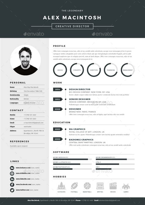 How To Make A Professional Cv Exles by Mono Resume Mono Resume Is A Bold Dynamic And