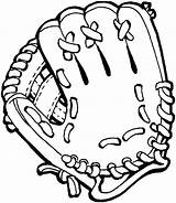 Baseball Glove Coloring Clip Clipart Mitt Giants Pages Gloves Drawings Sf Drawing Cliparts Francisco San Pixels Library Views Printable Ball sketch template