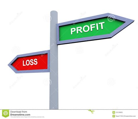 Profit And Loss Stock Photos Image 21518903