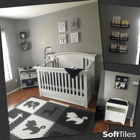 baby boy bedroom themes safari animals kids play mat sets with borders black gray 14082 | 6b0ad01fe4061c500fe38797ae6dea5d