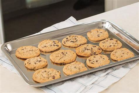 cookie sheet baking stainless steel pan sheets pans commercial non stick heavy cook pie supplies cake rated bread cooking amazon