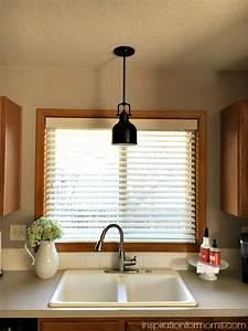 Pendant light over kitchen sink home design