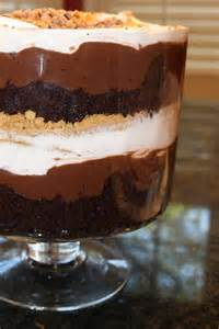 S'mores Chocolate Trifle