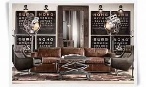 Canapé Style Industriel : meubles style industriel archives wodesign ~ Teatrodelosmanantiales.com Idées de Décoration