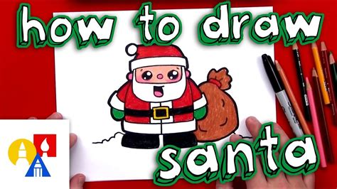 best drawi g of santa clause with chrisamas tree how to draw santa claus