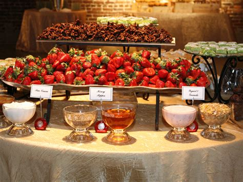 Wedding Reception Food Station Idea #budgetwedding #weddingfood Http