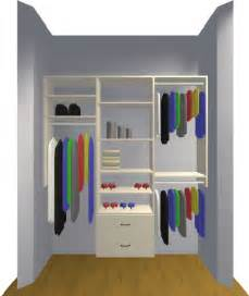 Small Closet Organizer Design