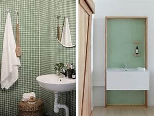 carrelage mosaique dans la salle de bains idees et With conseil carrelage salle de bain