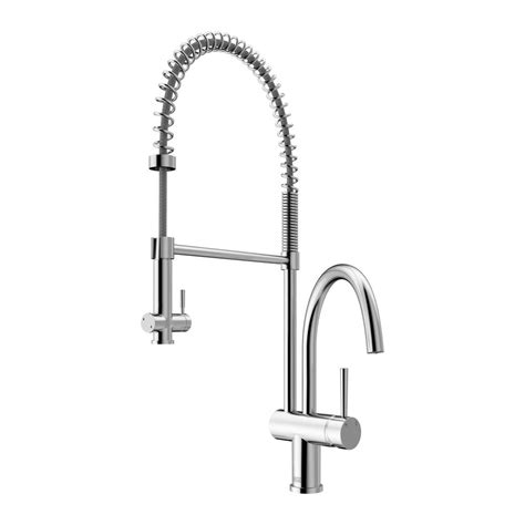 Vigo Kitchen Faucets by Vigo Single Handle Pull Sprayer Kitchen Faucet In
