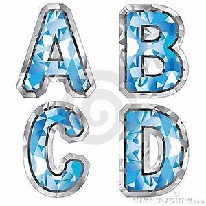 gem letter a b c d stock photography image 8270182 With gem letters