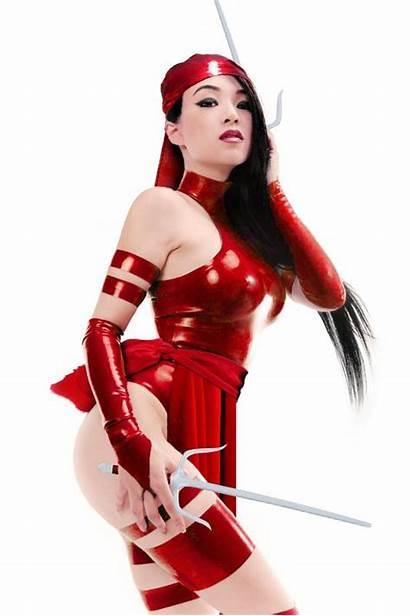 Cosplay Elektra Deviantart Linda Marvel Daredevil Drvillain