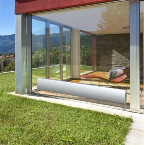 Dizaina radiatori Basco uzstādīšanai pie lielām stikla ...
