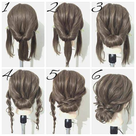 everyday hair updo tutorials  summer
