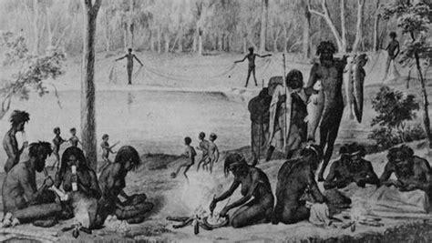 aborigines arrive  south east asia